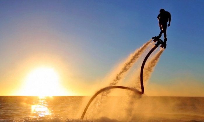Rocky Mountain Flyboard - Multiple Locations: 30-Minute Weekday or Weekend Flyboard Experience from Rocky Mountain Flyboard (Up to 40% Off)