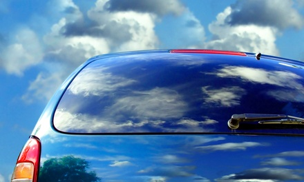 Window Tinting for a Two- or Four-Door Car or SUV at Custom Tint (47% Off)