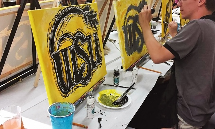 Paint the Towne - Multiple Locations: $20 for a Two-Hour BYOB Painting Class at Paint the Towne ($45 Value)