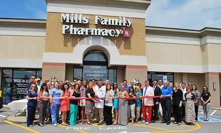 Pharmacy Goods at Mills Gift Shoppe and Sports Nutrition (Up to 50% Off). Two Options Available.