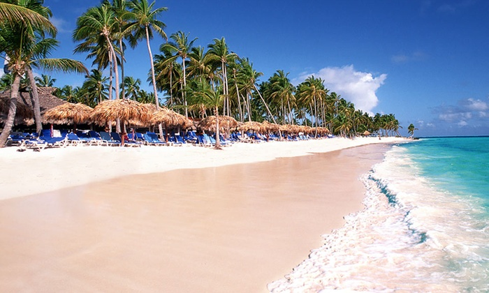 All-Inclusive Dominican Vacation with Airfare from Vacation Express - Punta Cana, Dominican Republic: 5- or 7-Night All-Inclusive Dominican Republic Vacation with Round-Trip Airfare from Vacation Express