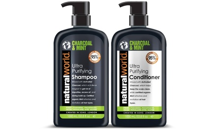 Natural World Charcoal Mint Duo
