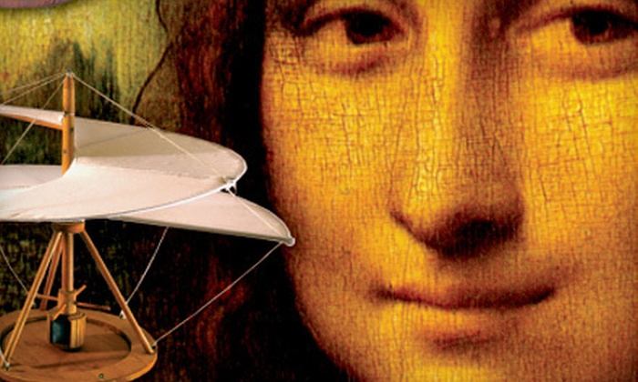 """""""Da Vinci Machines"""" Exhibit - Central Business District: $14 for the """"Da Vinci Machines"""" Exhibit for Two at Denver Pavilions (Up to $28 Value)"""
