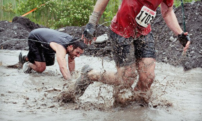 Rebel Race - St. Leonard: 5K or 15K Obstacle-Course Race on Saturday, October 20 from Rebel Race (Up to 66% Off)