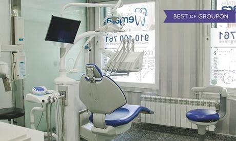 1 o 2 retenedores de ortodoncia transparentes con limpieza bucal desde 79,90 € en Clínica Dental Vergara