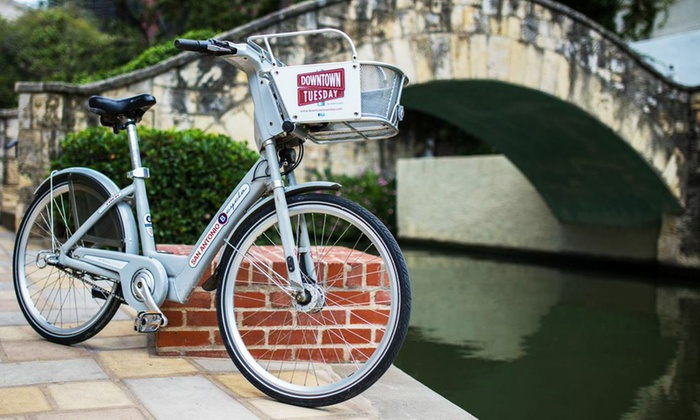 B-cycle - San Antonio: Three 24-Hour Passes with Optional One-Year Membership to B-cycle (Up to 60% Off)