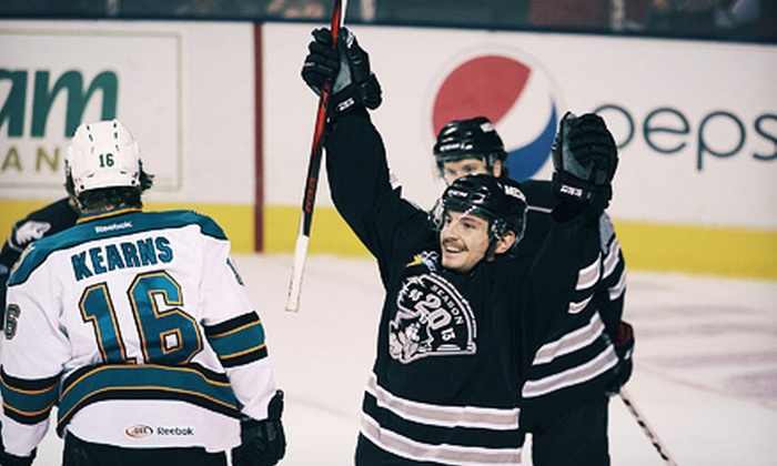 Portland Pirates - Portland: Portland Pirates Hockey Game on January 5, 8, 15, or 19 at Cumberland County Civic Center (Up to Half Off)