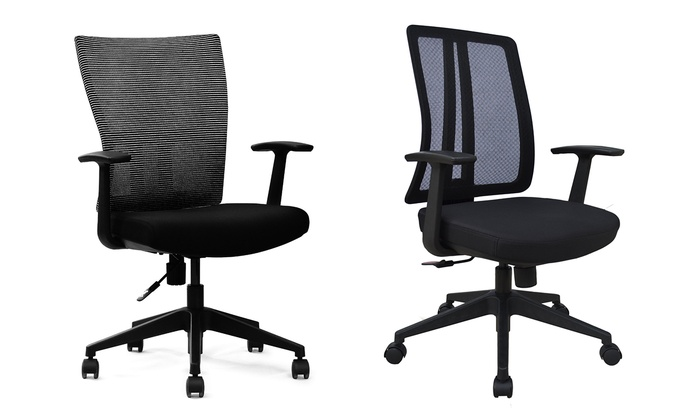 high-back mesh office chairs - lone star chairs | groupon