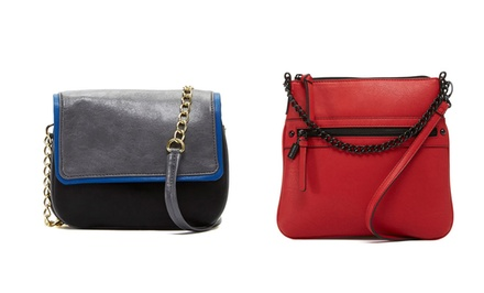 Kenneth Cole Reaction Hard Knox Cross-Body Purses for $29.99 or $44.99 | Brought to You by ideel