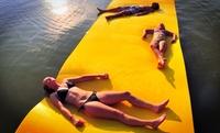 GROUPON: 18 Foot Water Mat Float 18 Foot Water Mat Float
