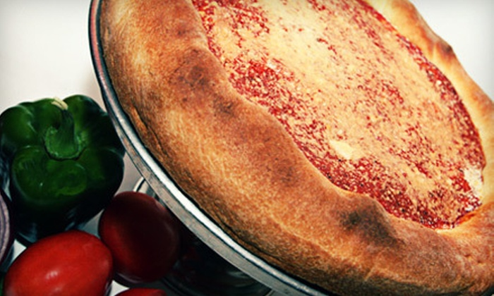 JD's Pizza Co. - Creston: Deep-Dish Pizza Package or $10 for $20 Worth of Pizzeria Fare at JD's Pizza Co. in Rockford