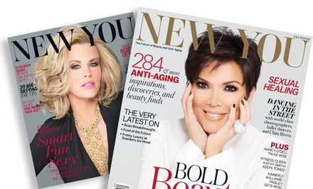 1-Year, 4-Issue Subscription to New You Magazine