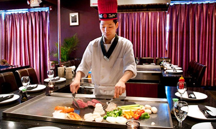 Sumou Hibachi & Sushi - St. James: $33 for $60 Worth of Sushi and Hibachi Cuisine at Sumou Hibachi & Sushi