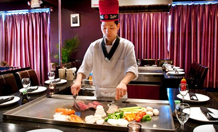 $30 for $60 Worth of Sushi and Hibachi Cuisine at Sumou Hibachi & Sushi