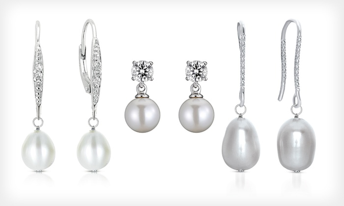 Allure Freshwater-Pearl Earrings: $18.99 for Allure Freshwater-Pearl Earrings (Up to $150 List Price). Six Styles Available. Free Shipping & Free Returns.