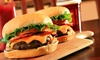 Top Burger - South Beach - Multiple Locations: Burgers, Hot Dogs,  Fries and More at Top Burger (Up to a 50% Off). Two Options Available.