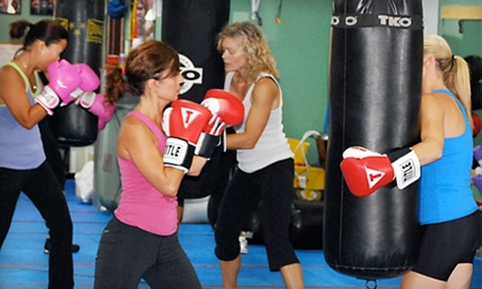 Champions Boxing Gym - Lombard: One or Two Months of Unlimited Boxing or Kickboxing Classes with Hand Wraps at Champions Boxing Gym (Up to 71% Off)