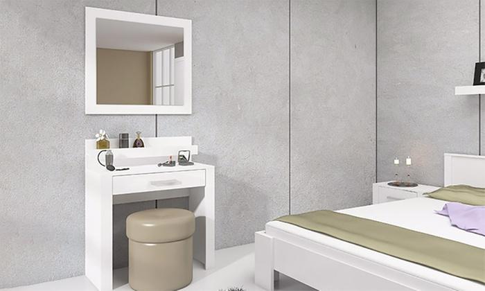 Interieur Kaptafel Styling : Kaptafel voor op de slaapkamer groupon