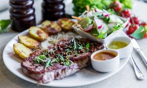 Royal Steak: Soczysty stek z dodatkami dla 2 osób za 59,99 zł i więcej opcji w restauracji Royal Steak (do -39%)