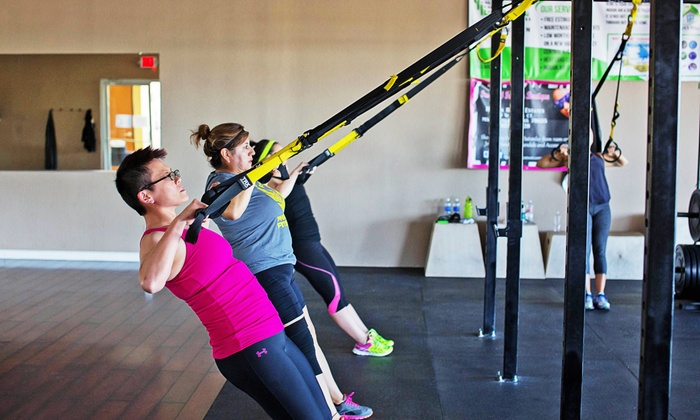 Phoenix Fitness - San Marcos: Month of TRX Training for One or Two at Phoenix Fitness (Up to 76% Off)