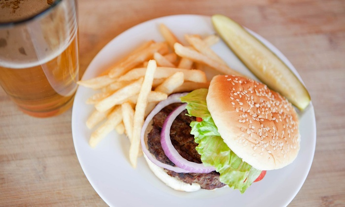 Papi Chulo's Bar & Grill - Chicago: Burgers and Beer for Two or Four at Papi Chulo's Bar & Grill (Up to 51% Off)