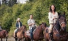 Hollow Tree Ranch - New Braunfels: Horseback-Riding Party for 10, or Guided Trail Ride for 2 or 4 at Hollow Tree Ranch in New Braunfels (Up to 57% Off)