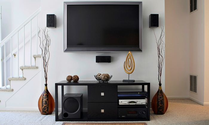 DJ Electric Services - Cooper City: $149 TV Mount Installation with Included Labor Costs from DJ Electric Services ($250 Value)
