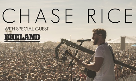 Chase Rice at the Pacific Amphitheatre in Costa Mesa on September 2 at 7:30 p.m.