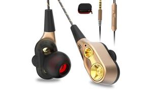 Écouteurs avec double pistons