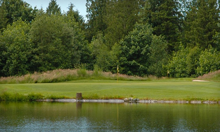 Heather Hills Farm and Golf Course - Maple Ridge: Golf Outing for Two or Four with Pushcarts at Heather Hills Farm and Golf Course in Maple Ridge (Up to 53% Off)