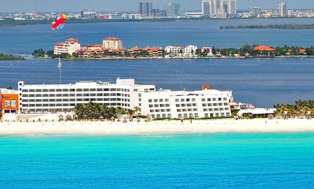 6- or 7-Night All-Inclusive Cancun Vacation with Airfare. Price/person Based on Double Occupancy.