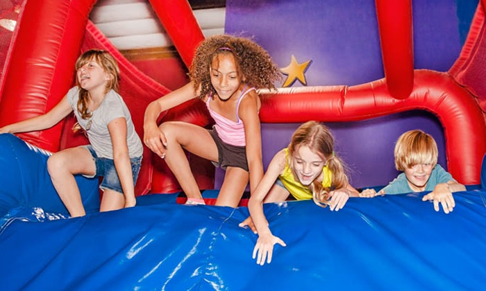 Pump it Up - Lake Forest: One, Three, or Five Days of Summer Day Camp for Kids Ages 4–11 at Pump It Up of Lake Forest (Up to 52% Off)