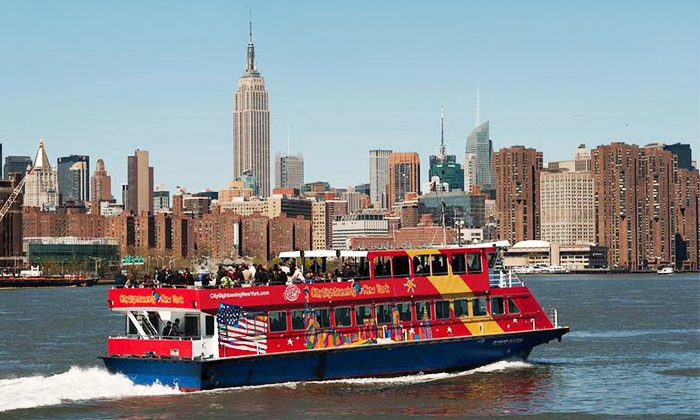 CitySights NY  - Multiple Locations: Ferry Tour and Museum Visit with or without Bus-Tour Package for One or Two from CitySights NY (Up to 24% Off)