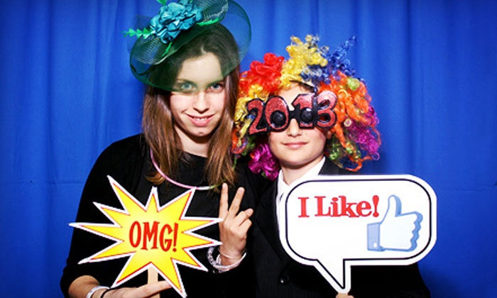 WhatTheFun?! Photobooth - Rancho Cucamonga: $299 for a Two-Hour Photo-Booth Rental with Unlimited Prints from WhatTheFun?! PhotoBooth ($599 Value)
