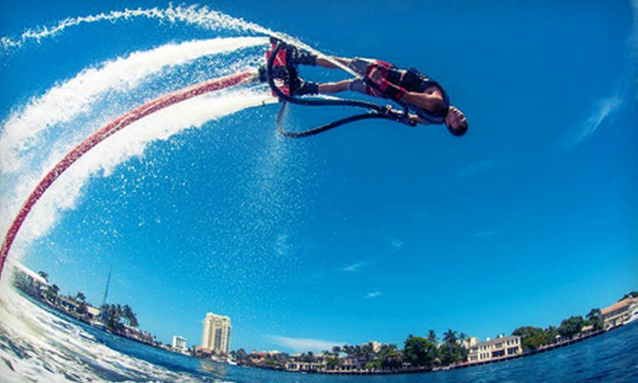 Hydro X Flyboarding - Multiple Locations: $99 for a 30-Minute Flyboarding Experience from Hydro X Flyboarding ($ 199 Value)