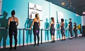 barre revolution: Two, Four, or Six Barre Fitness Classes at barre revolution (Up to 48% Off)