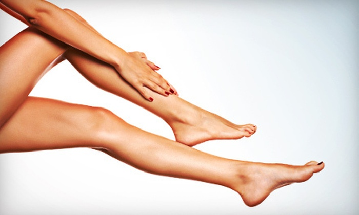 Aura Laser Skin Care - Multiple Locations: Laser Hair Removal at Aura Laser Skin Care (Up to 85% Off). Four Options Available.