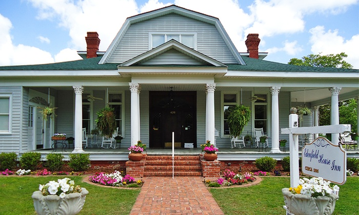 The Edenfield House - Swainsboro, GA: 1 or 2 Nights in a Golden Oak, Wildwood, or Magnolia Room with Optional Wine at The Edenfield House in Swainsboro, GA