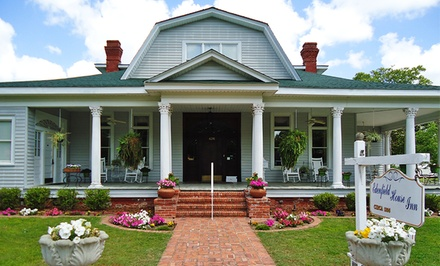1 or 2 Nights in a Golden Oak, Wildwood, or Magnolia Room with Optional Wine at The Edenfield House in Swainsboro, GA