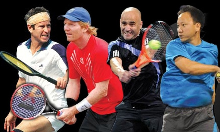 PowerShares Series Tennis - Honda Center: PowerShares Series Tennis Champions Cup at Honda Center on Friday, November 30, at 7:30 p.m. (Up to 58% Off)