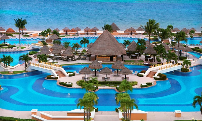 Moon Palace Cancun All-Inclusive Trip with Airfare - Cancún, Mexico ...