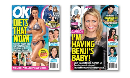 $25 for a One-Year Subscription to OK! Magazine ($59.95 Value)
