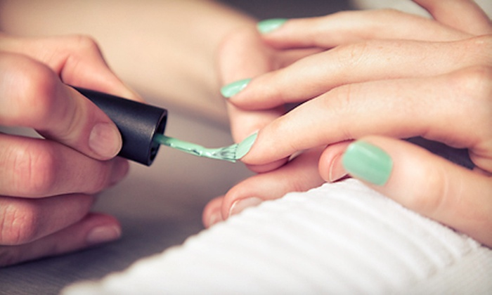 Studio Luxe Salon - Stow: Basic or Shellac Manicure at Studio Luxe Salon (Up to 51% Off)