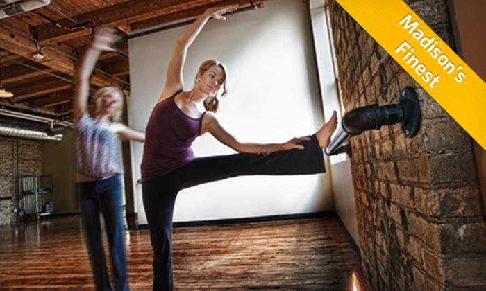 The Studio in Madison - Marquette: 5 or 10 Yoga Barre Classes at The Studio in Madison (Up to 59% Off)