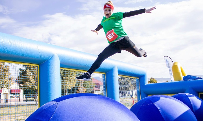 Hit and Run 5K - State Fairgrounds: Hit and Run 5K Obstacle-Course Entry for One or Two on Saturday, May 31, at 9 a.m. (Up to 44% Off)