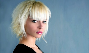 Salon 25: Haircut with Single-Process Color, Conditioning Treatment, or Partial Highlights at Salon 25 (Up to 52% Off)
