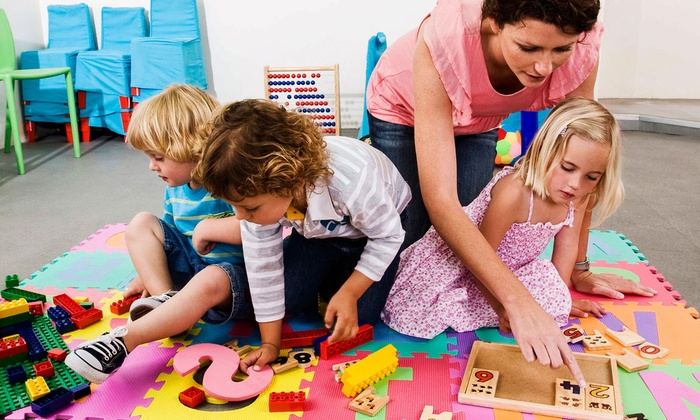 Stepping Stones Learning Center - Multiple Locations: $132 for Four-Week Childcare Program with Registration at Stepping Stones Learning Center ($873 Value)