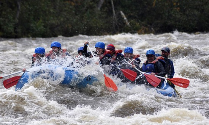 Magic Falls Rafting Company - West Forks: Dead River High-Water Release Trip for One or Two from Magic Falls Rafting Company (Up to 57% Off)