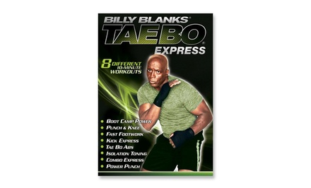 Billy Blanks: Tae Bo Express DVD
