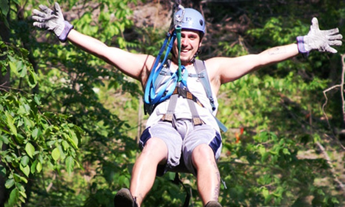 Harpers Ferry Adventure Center - Harpers Ferry: Zipline Tour and All-Day Tubing for Two, Four, or Six at Harpers Ferry Adventure Center (Up to 61% Off)